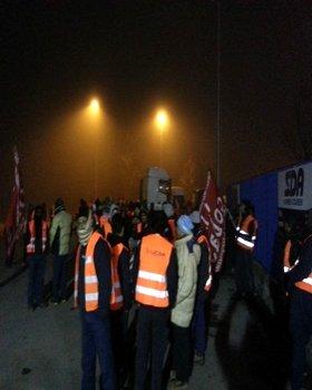 sciopero SDA Bologna
