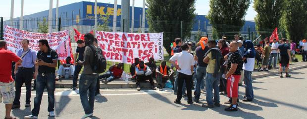 ikea protesta