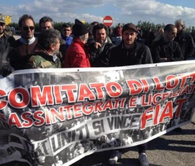 Nola la protesta del Comitato di lotta cassintegrati 1 1