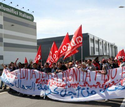 logistica sciopero