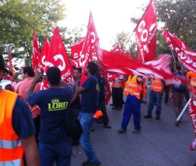 sciopero TNT di Bologna