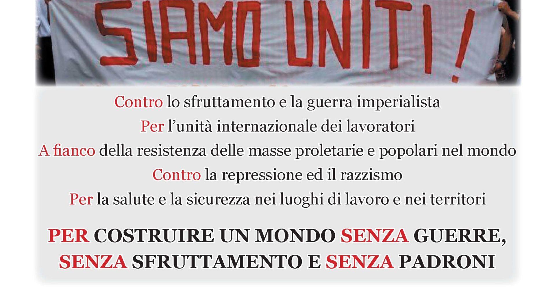manifesto 1 maggio 2014 piacenza