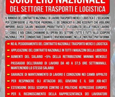 manifesto per sciopero 29 ottobre